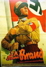 "Poster of the ""Brown Shirts"" (1931)"