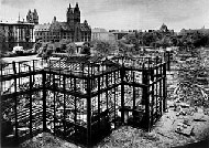 6 June1931 – Munich – The ruins of the Glaspalast gutted by fire