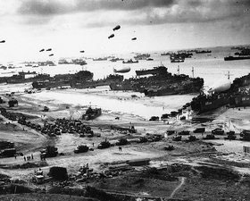 6 giugno 1944 – D day – The Allies landed in Normandy