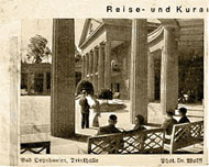 1930 – The Oeynhausen Spa where Hess painted a series of frescoes