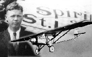 1927 – Charles Lindbergh made his epic transatlantic airplane flight from New York to Paris