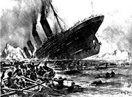 14 April 1912 – The Titanic struck an iceberg and sank